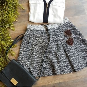 Banana Republic • Marled Full Mini Skirt